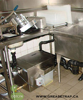 Low Profile grease traps