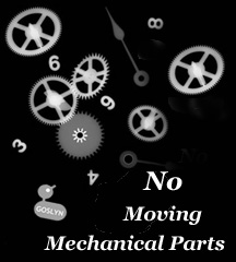 No Moving Mechanical Parts